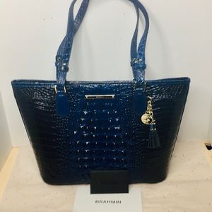 Brahmin sapphire Melbourne The Medium Asher Tote